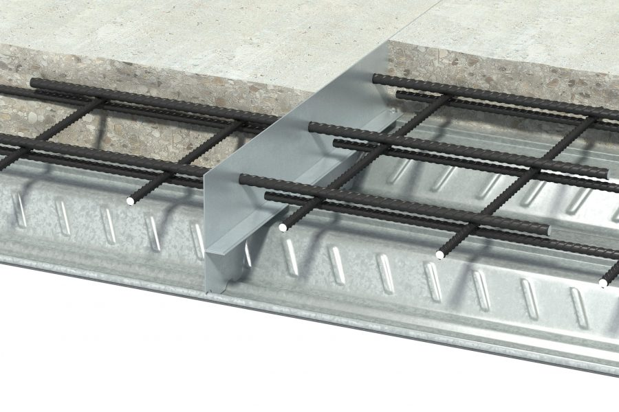 Steeldeckjoint Concrete Scene