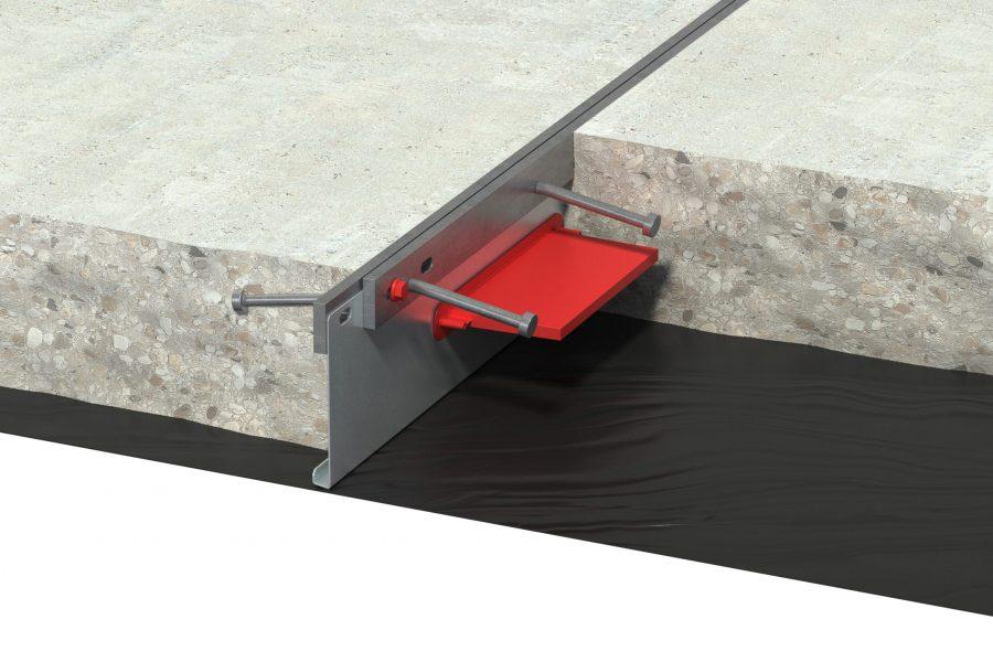 Armourjoint Fixed Concrete Scene